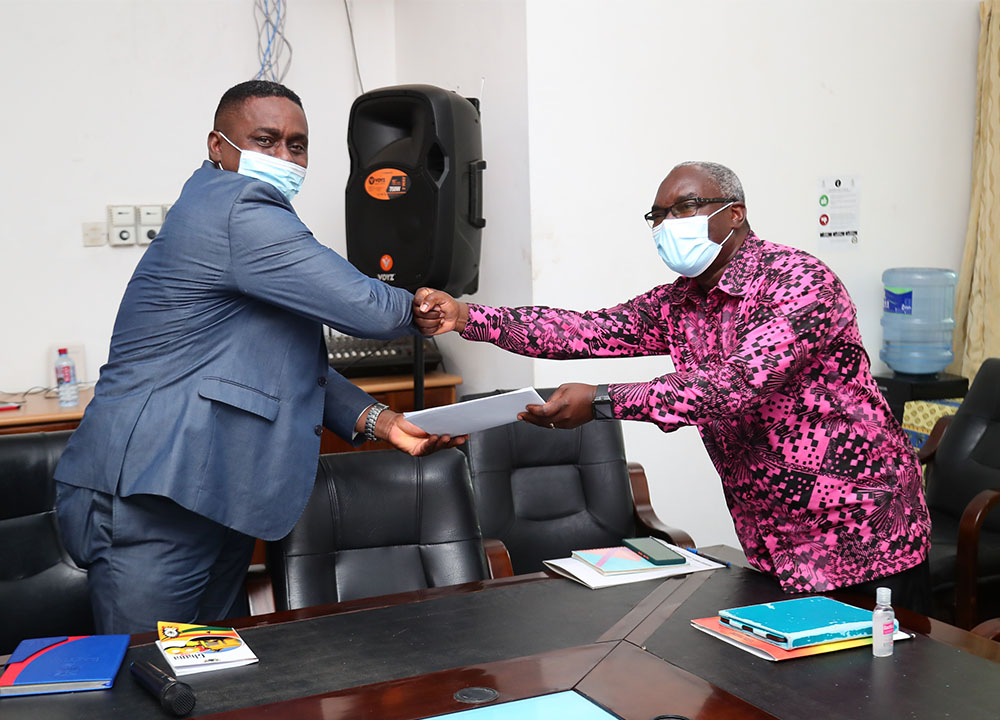 Exchange of the signed MoU