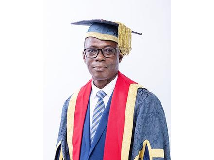 Prof. Johnson Nyarko Boampong-Vice-Chancellor
